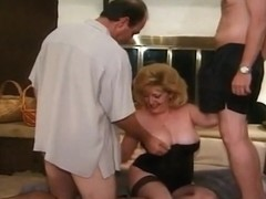 Three Mature Whores Getting Group Fucked