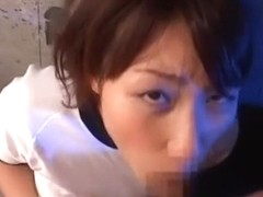Crazy Japanese model in Horny Gangbang, POV JAV video