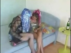 Two hot Russian babes in a wicked amateur threesome