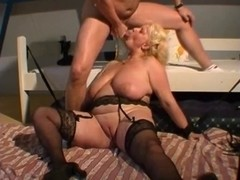 Golden-Haired big beautiful woman anal, marital-devices