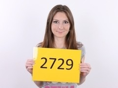 CZECH CASTING - AMAZINGLY TAUT VAGINA OF LUCIE (2729)