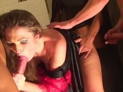 Adel & Alon & Anette Dawn & Julia Crow & Zanna in there are many sexy chicks in this hot orgy movie