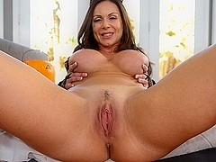 Kendra Lust in Make Her Purr Video