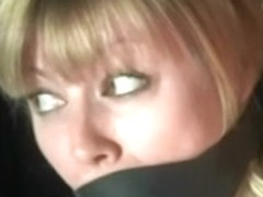 Messy Blond Tied Spanked And Toyed