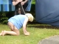 Fabulous amateur shemale video with Outdoor, Domination scenes