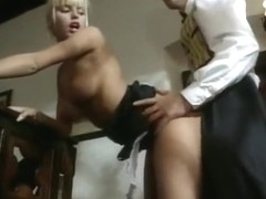 anita blonde hottest maid