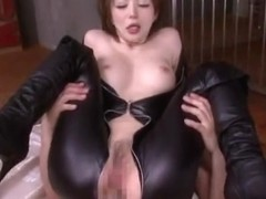 Yuria Satomi gets nailed hard and long