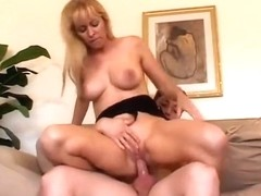 Horny pornstar Nicole Moore in amazing big tits, blonde sex scene