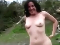 Hairy cunt MILF public flashing hairy amateur video - tube.a