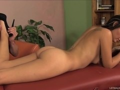 Aimee Black S Pussy Makes For Delicious Creampie
