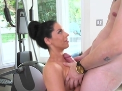 Big ass babe Bella Reese is a dick handler