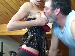 Livecam Switch Domination With Strap-On Play - KinkyFrenchies