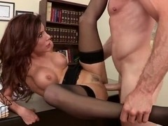 Sexy Aleksa Nicole is fucking at work