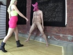 Princess Hard Ballbusting