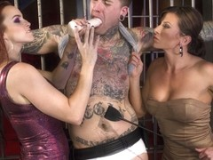 Ruckus & Ariel X & Bella Rossi in Sex Worker Revenge - DivineBitches