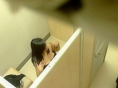 Voyeur video from a changing room