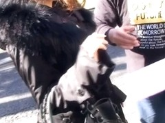 Hot downblouse film that I made on the street