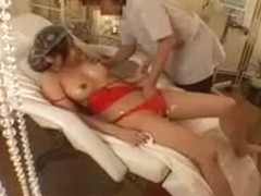 Fascinating Asian Chick Gets Her Body Massaged And Her Puss
