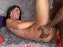 India Summer in Brunette India Summer Screwed By A Black Shlong - Upox