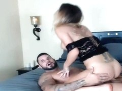 Sexy Blonde Blue Eyes Bitch Fucked Hard From Behind