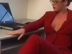 Ella nova office strapon with coworker futanaria porn