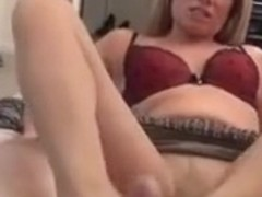 Mom gives Hose Footjob and BJ