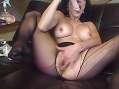 Livecam B Rips Her Pantyhose For Private Access - KinkyFrenchies