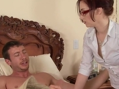 Best pornstar Cameron Love in crazy facial, redhead xxx movie