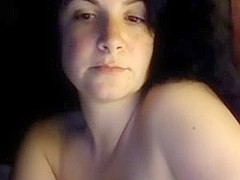 Hot MILF plays on a webcam show