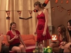 Group sex at 18th birthday party