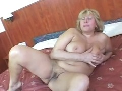 Fat Mature With Big Tits Meets In A Hotel To Get A Bone