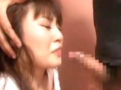 Exotic Japanese whore Honami Isshiki in Amazing Threesomes JAV clip