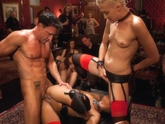 Skin Diamond & Krysta Kaos & Dylan Ryan & Marco Banderas & Maestro Stefanos in Restriction Lifted .