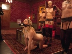 Krysta Kaos & Lily LaBeau & Dylan Ryan & Beretta James & Derrick Pierce in Slave Initiation: Piggy.