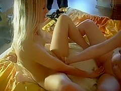 Golden-Haired Witch - The excited lesbian babes collision