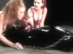 Berlin uses toy while sabrina fox performs cbt on loser