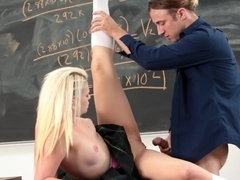 Incredible pornstar Aubrey Gold in Exotic Stockings, Blonde adult movie