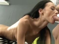Eveline Neill enjoys piss drinking and gets piss inside pussy before fuckin