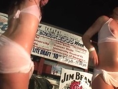 Three Home Videos of Awesome Wet T-Shirt Contests - SouthBeachCoeds