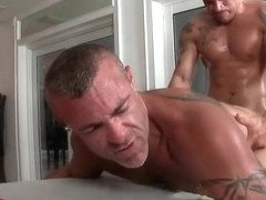 Fine dude gets his smooth penis sucked part3