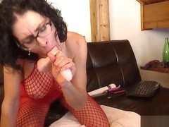 Livecam Fishnet Slave Gets Her Mouth & Ass Fucked - KinkyFrenchies