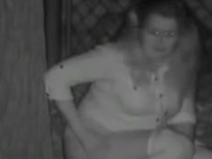 Fat whore gets caught on camera being groped and peeing