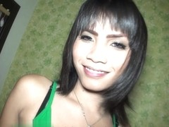 Ladyboy Am 3 in Femboy Bareback CIM Facial