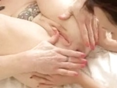 Lesbian Babes playing with their prolapsed assholes