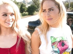 Carter Cruise & Elsa Jean in Catcalling - GirlsWay