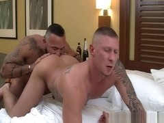 Alessio and Tyler flip fuck