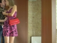 PantyhoseLine Clip: Irene and Rolf