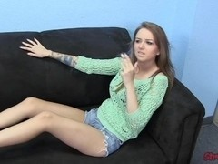 Pressley Carter Smoking Handjob