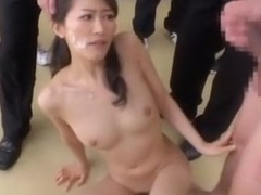 Best Japanese slut Aoki Misora, Hitomi Honjou, Yuuha Sakai in Crazy Group Sex, Blowjob JAV clip
