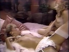 Amber Lynn, Debra Lynn, Erica Boyer in vintage sex video